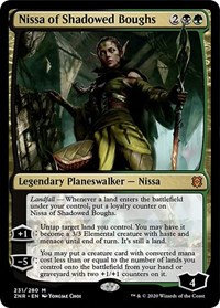 Nissa of Shadowed Boughs (Promo Pack) (Foil)