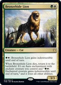 Bronzehide Lion (Promo Pack) (Foil)