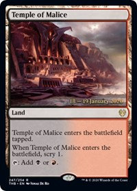 Temple of Malice (Prerelease)