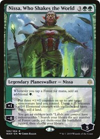 Nissa, Who Shakes the World (Promo Pack)
