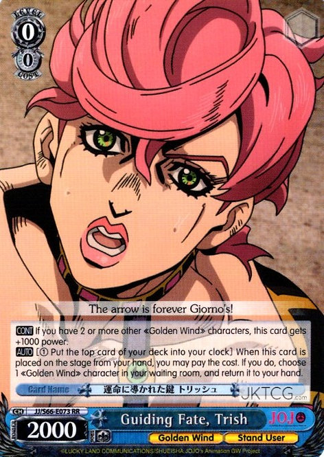 Guiding Fate, Trish