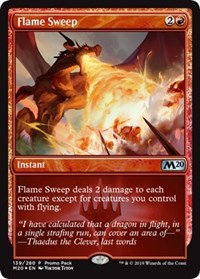 Flame Sweep (Promo Pack)