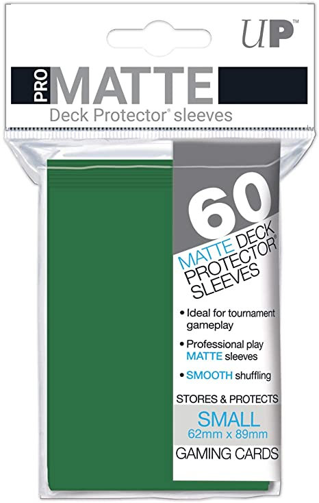 Pro Matte Card Sleeves (Small) Green 60ct.