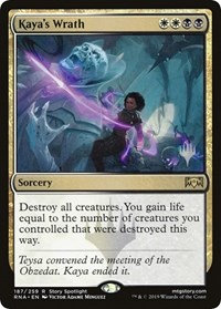 Kaya's Wrath (Promo Pack) (Foil)