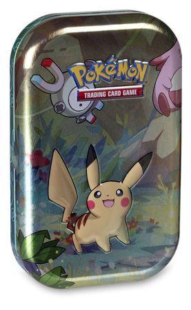 Pokemon Mini Tin - Magnemite & Pikachu
