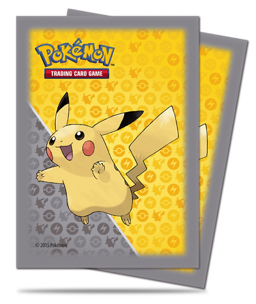 UltraPro Pikachu Card Sleeves (Standard) 65ct.