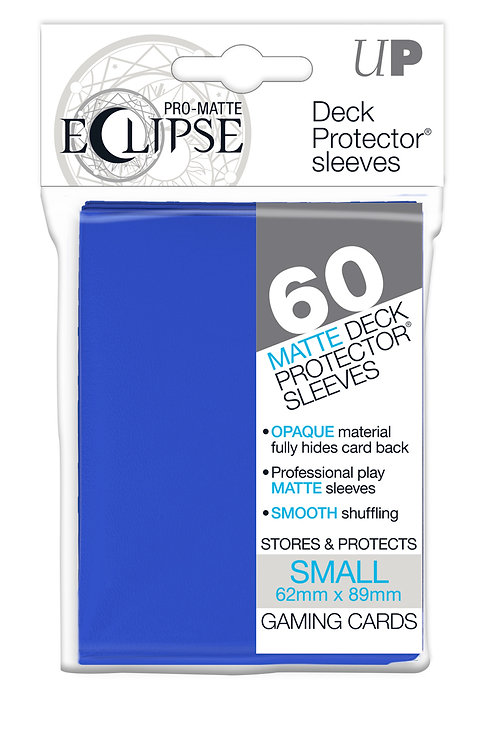 Eclipse Card Sleeves (Small) Pacific Blue 60ct.