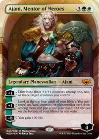 Ajani, Mentor of Heroes (Mythic Edition)