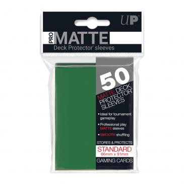 Pro Matte Card Sleeves (Standard) Green 50ct.