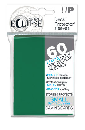 Eclipse Card Sleeves (Small) Forest Green 60ct.