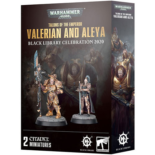 Warhammer 40,000 Valerian and Aleya