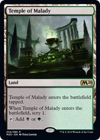 Temple of Malady (Promo Pack) (Foil)
