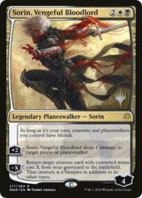Sorin, Vengeful Bloodlord (Promo Pack)