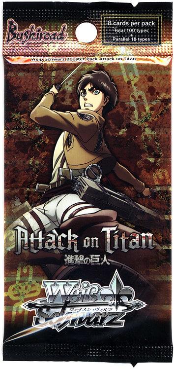 Weiss Schwarz Attack on Titan Booster Pack