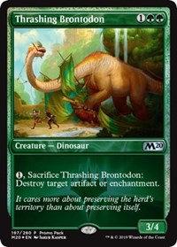 Thrashing Brontodon (Promo Pack)