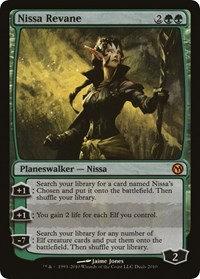 Nissa Revane (Foil)