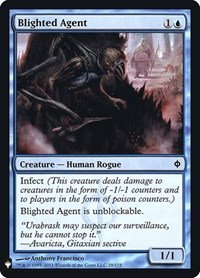 Blighted Agent (Mystery Booster) (Foil)