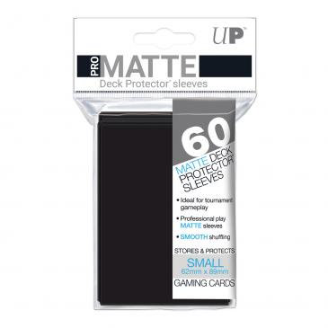 Pro Matte Card Sleeves (Small) Black 60ct.
