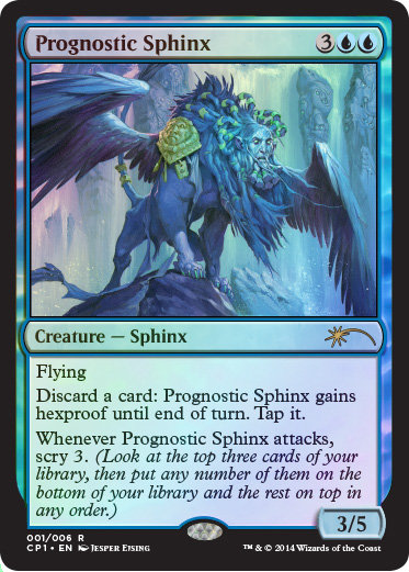 Prognostic Sphinx (Promo) (Foil)