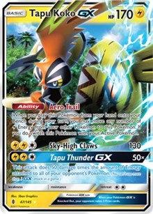 Tapu Koko GX 47/145