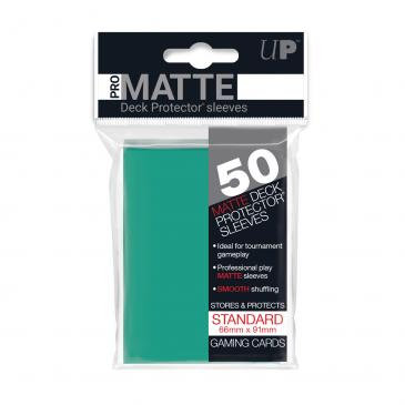 Pro Matte Card Sleeves (Standard) Aqua 50ct.