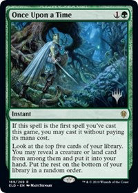 Once Upon a Time (Promo Pack) (Foil)