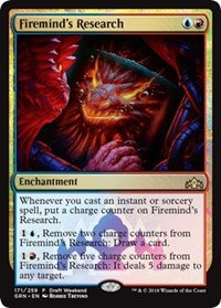 Firemind's Research (Promo) (Foil)