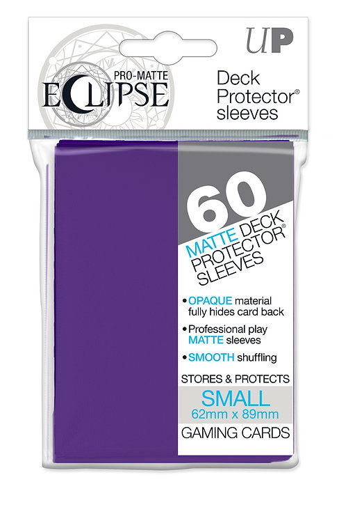 Eclipse Card Sleeves (Small) Royal Purple 60ct.