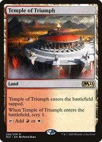 Temple of Triumph (Promo Pack) (Foil)