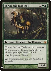 Thrun, the Last Troll (Mystery Booster)