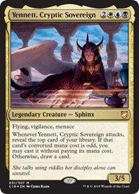 Yennett, Cryptic Sovereign (Foil)
