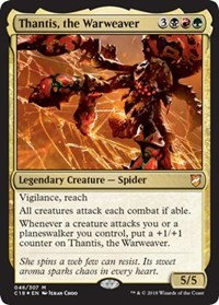Thantis, the Warweaver (Foil)