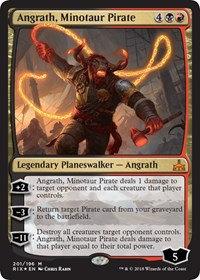 Angrath, Minotaur Pirate (Foil)