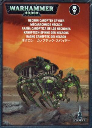 Warhammer 40,000 Necron Canoptek Spyder