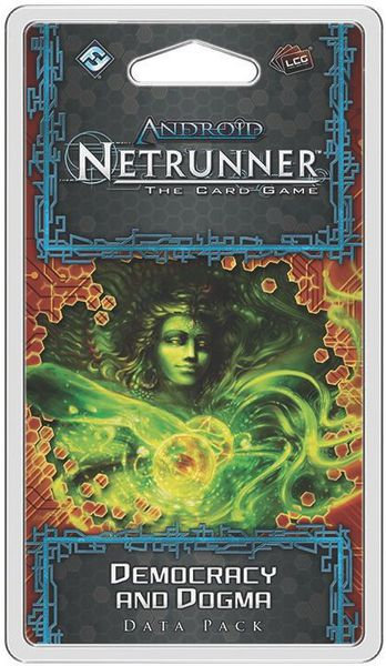 Netrunner: Democracy and Dogma Data Pack