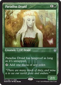 Paradise Druid (Promo) (Foil)