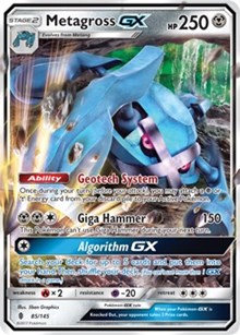 Metagross GX 85/145