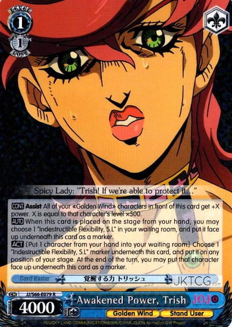 Awakened Power, Trish