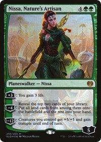 Nissa, Nature's Artisan (Foil)