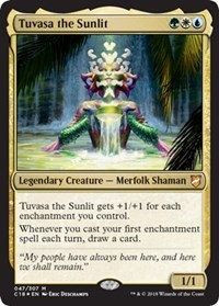Tuvasa the Sunlit (Foil)