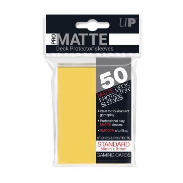 Pro Matte Card Sleeves (Standard) Yellow 50ct.