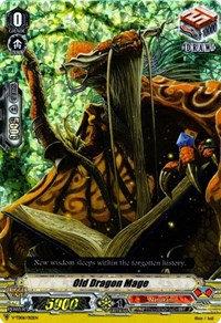 Old Dragon Mage (Foil)