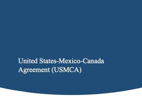 United States-Mexico-Canada Agreement (USMCA)