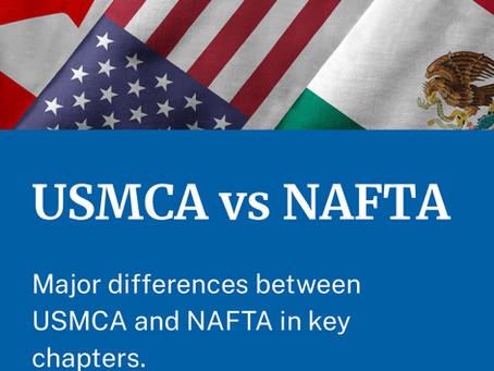 USMCA vs NAFTA