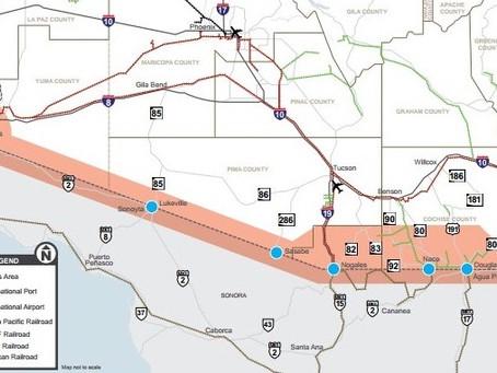 Sonora Gov't announced a filter program at the AZ border to prevent non-essential border crossing