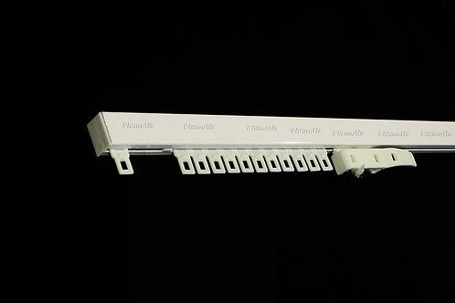 Tringle de chemin de fer  sans cordon  (lance rideaux vendu séparément)