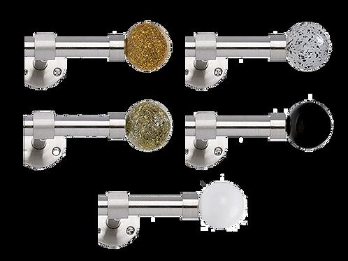 Cosmos Acier, Ø 19 mm ou Ø 30 mm, de 150 cm à 400 cm, À partir de