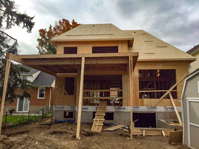 Roof is up