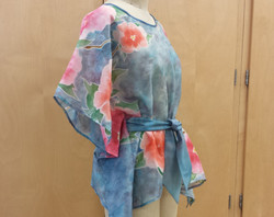 Painted Silk Tunic