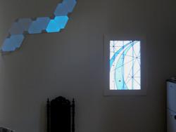 Pose du vitrail à Maison Alfort (94)